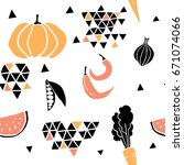 geometric seamless pattern with ...