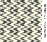 seamless wave and stripe... | Shutterstock .eps vector #671080738