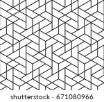 Abstract Geometric Pattern...