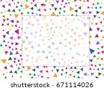 abstract background  colorful ... | Shutterstock .eps vector #671114026