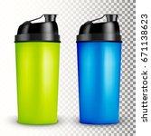 protein shaker design template... | Shutterstock .eps vector #671138623
