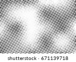 abstract halftone dotted...   Shutterstock .eps vector #671139718