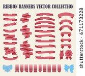 set of hand drawn vector... | Shutterstock .eps vector #671173228