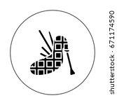 bagpipe | Shutterstock .eps vector #671174590