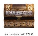 decorative antique chest... | Shutterstock . vector #67117951