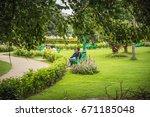kolkata  india   june 25  2017  ...   Shutterstock . vector #671185048
