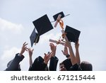 education  graduation and... | Shutterstock . vector #671215444