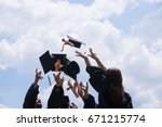education  graduation and... | Shutterstock . vector #671215774