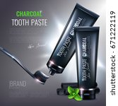 Charcoal Toothpaste Poster...