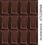dark candy chocolate bars ....   Shutterstock .eps vector #671228968
