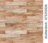 seamless wood parquet texture ... | Shutterstock . vector #671252026