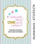 twinkle  twinkle  little star ... | Shutterstock .eps vector #671252176