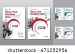 city background business book... | Shutterstock .eps vector #671252956