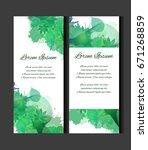 set of templates of vertical...   Shutterstock .eps vector #671268859