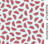 seamless pattern with...   Shutterstock .eps vector #671285596