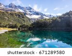 Blue Lake Nelson Lakes Nationa...