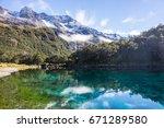 Blue Lake Nelson Lakes Nationa...
