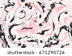 Design Pink And Black Marble...