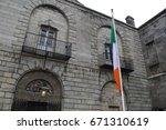 Stock photo kilmainham goal in dublin 671310619