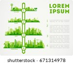 abstract stylish cityscape...   Shutterstock .eps vector #671314978
