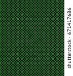 abstract geometric figures of... | Shutterstock . vector #671417686