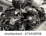 Steam Locomotive In National...