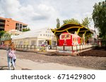 perm  russia   june 18.2017 ... | Shutterstock . vector #671429800