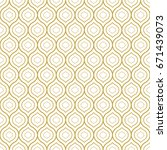seamless geometric oriental... | Shutterstock .eps vector #671439073