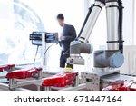automated robotic arm polishing ...
