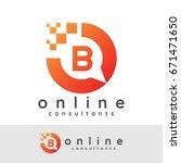 online consultants initial... | Shutterstock .eps vector #671471650