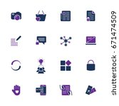 style and clean icons pack for...