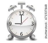 metal mechanical realistic... | Shutterstock .eps vector #671537668