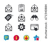 mail envelope icons. find...