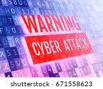 digital security concept.... | Shutterstock . vector #671558623