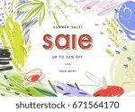sale banner template design....   Shutterstock .eps vector #671564170