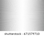 abstract halftone dotted... | Shutterstock .eps vector #671579710