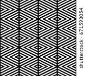 white chevron lines on black... | Shutterstock .eps vector #671593054
