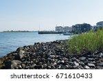 bayside photo of the atlantic...   Shutterstock . vector #671610433