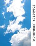clouds in the sky | Shutterstock . vector #671649928