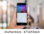 chiang mai  thailand   july 04  ... | Shutterstock . vector #671653663