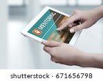 mentoring business motivation... | Shutterstock . vector #671656798