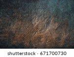 copper background | Shutterstock . vector #671700730