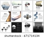 abstract polygonal modern style ... | Shutterstock .eps vector #671714134