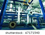 equipment  cables and piping as ... | Shutterstock . vector #67171540