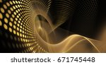 abstract background element.... | Shutterstock . vector #671745448