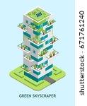 vector isometric illustration...   Shutterstock .eps vector #671761240