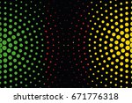a flag illustration of the... | Shutterstock .eps vector #671776318