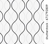 vector seamless pattern. modern ... | Shutterstock .eps vector #671792809