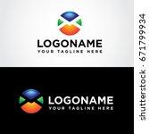 email logo design vector... | Shutterstock .eps vector #671799934