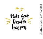 conceptual hand drawn phrase... | Shutterstock .eps vector #671865004